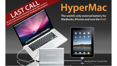 HyperMac dejará de vender sus baterías actuales debido a la presión de Apple