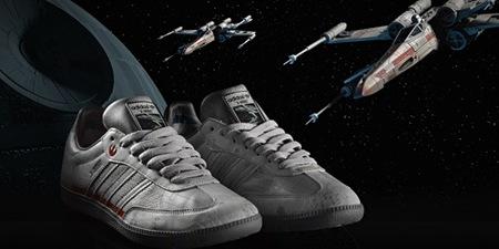 Adidas y Star Wars, la colaboración más espacial de 2010, X-Wing