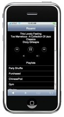 Roami, controlando iTunes con el iPhone