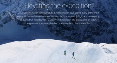 Apple actualiza la campaña Your Verse del iPad con la historia de dos montañeros