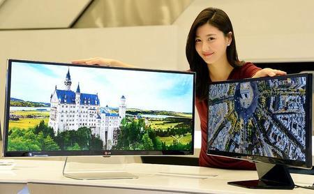 Los nuevos monitores LG ultrapanorámicos y 4K llegarán en Enero