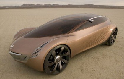 Mazda Nagare concept en Los Angeles