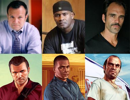 Así son los actores que dan vida a los protagonistas de 'GTA V'
