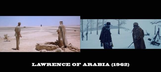 Los Odiosos Ocho y Lawrence de Arabia