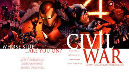 Civil War: así fue en los cómics