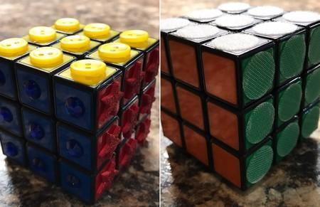 El Desafio De Adaptar El Cubo De Rubik Para Invidentes Desde