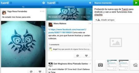Tuenti Social Messenger se actualiza en Android
