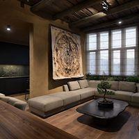 Descubre este apartamento que representa buen ejemplo de la fusión de estilos decorativos