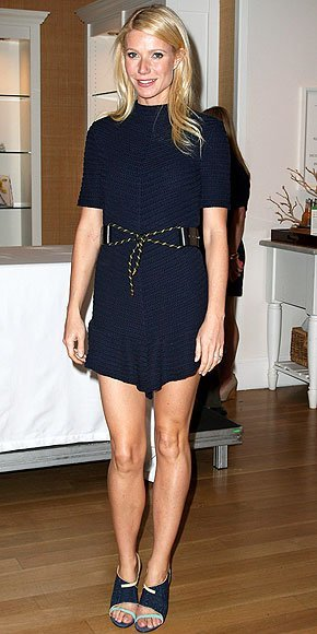 gwyenth paltrow vestido navy