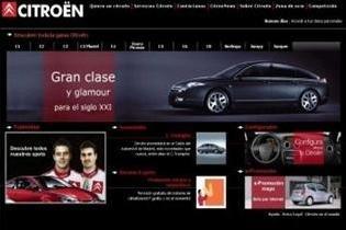 Citroën renueva su web