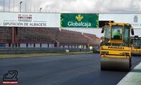 El nuevo firme del Circuito de Albacete ya está casi a punto