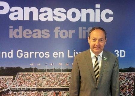 'Los sistemas de 3D con gafas pasivas no son el camino correcto' Entrevista a Laurent Abadie, CEO de Panasonic Europa
