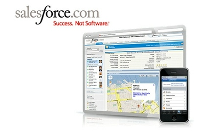 Salesforce Contact Manager, CRM online para pymes