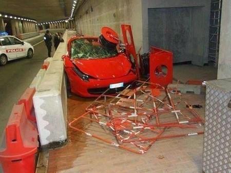 Accidentes de Ferrari 458