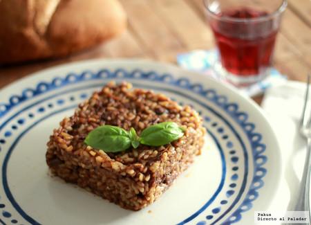 Risotto de estofado de ternera, receta de aprovechamiento