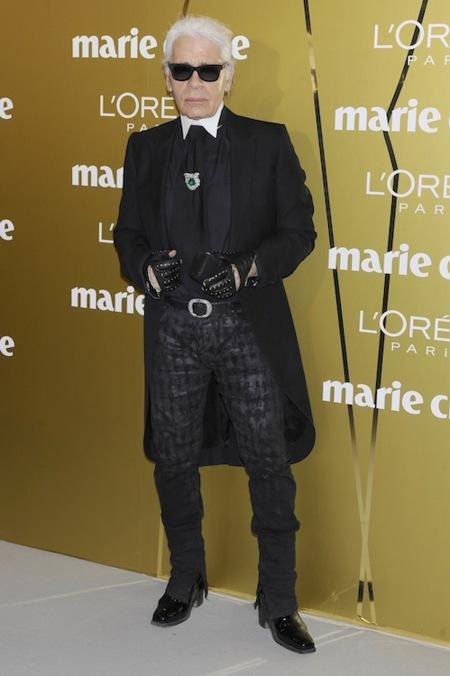 Trendencias noticias: Karl Lagerfeld visita España
