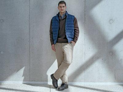 ¿Existe un mercado para las tallas grandes en la moda masculina?
