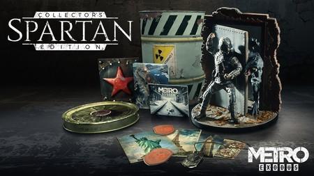 Si vas a apostar por la Spartan Collector's Edition de Metro Exodus, este unboxing te interesa