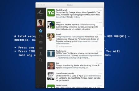 Twitter para Mac se actualiza con traducción al español y gráficos Retina