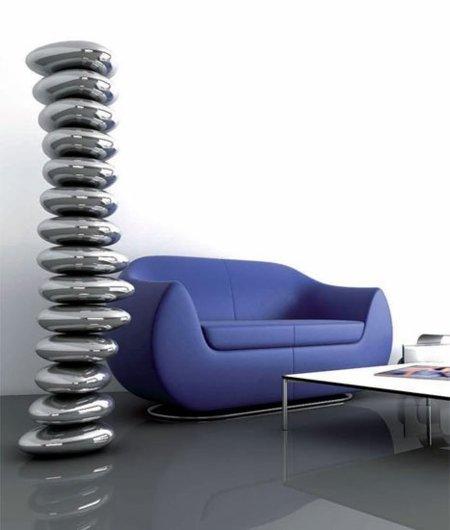 Radiador RocKandRoll diseñado por Karim Rashid