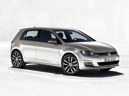Volkswagen Golf VII fondo claro