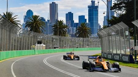 Norris Sainz Mclaren Australia