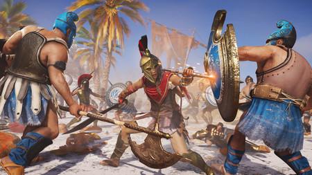 Assassin's Creed: Odyssey: Kassandra protagoniza 11 minutos de gameplay por Miconos con salto de fe incluido