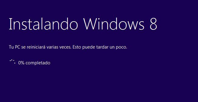 instalar Windows 8