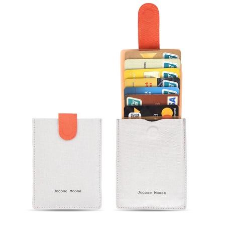 Oferta flash en el tarjetero con bloqueo RFID de Jocose Moose: desde 8,46 euros en Amazon
