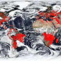 Todos los incendios activos del planeta, recopilados en este sensacional mapa de la NASA
