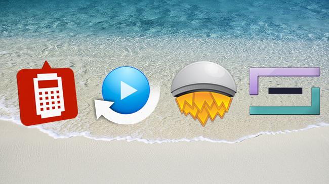 Cuatro aplicaciones gratuitas OS X Mac App Store