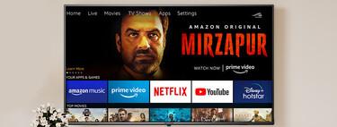 Pilas, mochilas y ahora hasta teles: Amazon ya vende sus propias Smart TVs en India, y tiene sentido