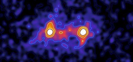 Las galaxias está unidas por una red cósmica de materia oscura