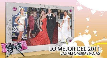 Lo mejor del 2011 en Poprosa: las alfombras rojas, glamour al peso