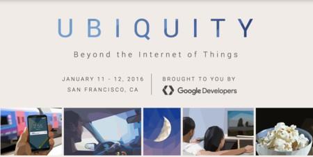 Google abrirá el 2016 con un evento especial centrado en el Internet de las Cosas