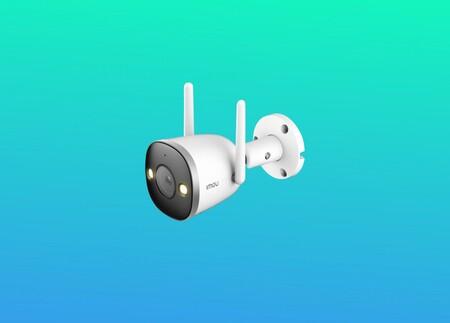 Esta cámara de vigilancia inalámbrica envía avisos a tu móvil si detecta la presencia de personas y hoy la tienes por 25,99 euros con un cupón de descuento