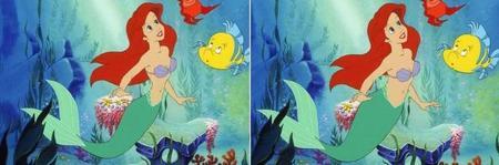 Ariel con cintura real