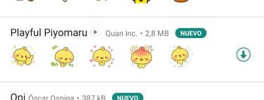 Cómo enviar stickers animados en WhatsApp