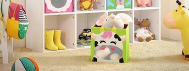 17 cestos en los que los niños querrán estar siempre ordenando sus juguetes (…o no, pero son bonitos)