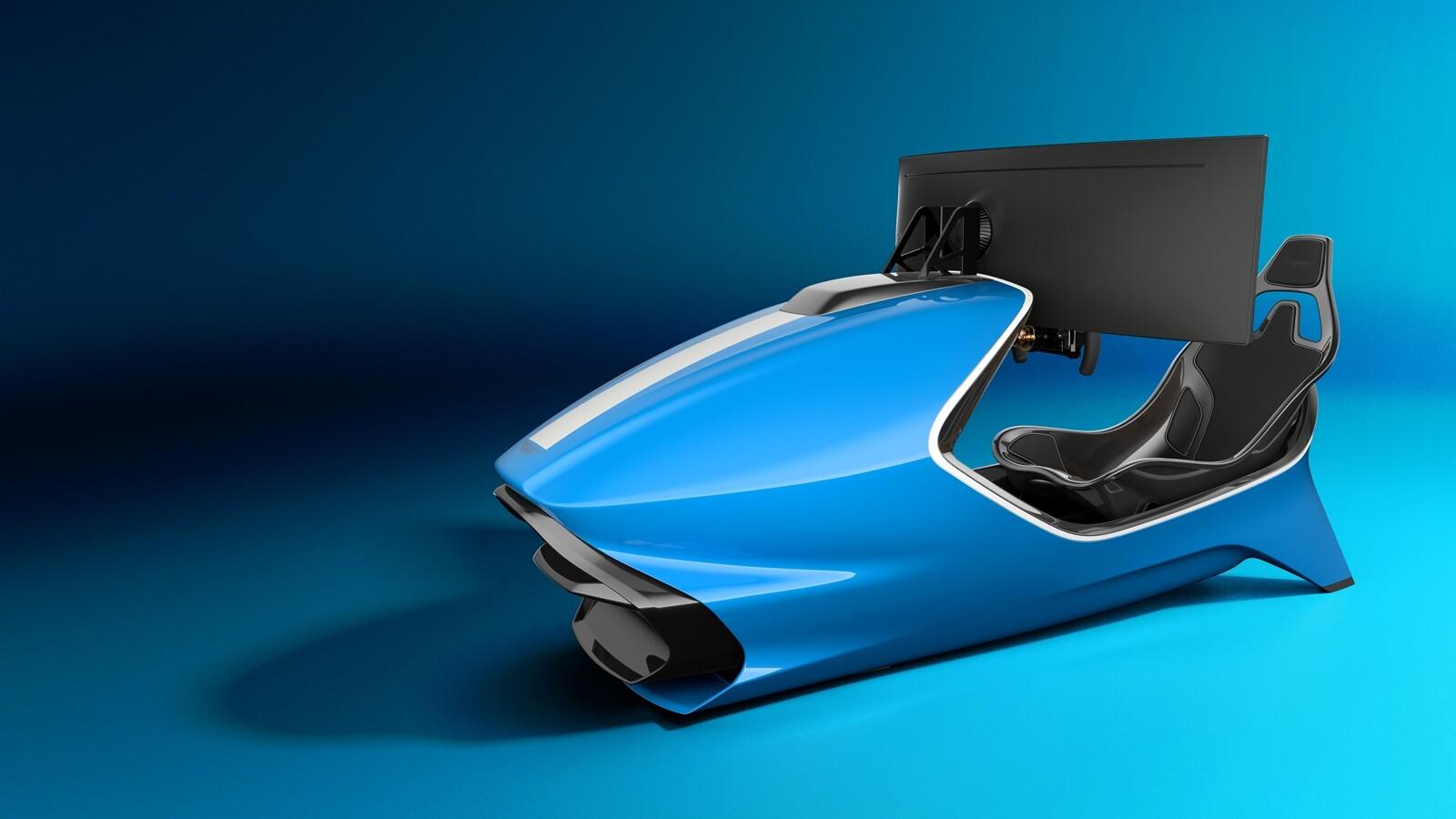Foto de Simulador Aston Martin AMR-C01 (6/19)