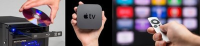 Outclass Apple TV Server, copia tus DVD o Bluray y comparte directamente con el Apple TV