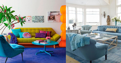 11 ideas para usar colores diferentes en casa sin que parezca carnaval