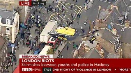 Revueltas en Londres: ni Facebook, ni Twitter, más bien BlackBerry Messenger