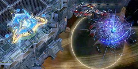 StarCraft II - Nave nodriza Protoss