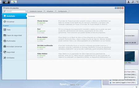 DSM 4.2 Centro paquetes