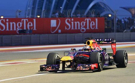 Sebastian Vettel marca el mejor tiempo y Red Bull domina a sus adversarios