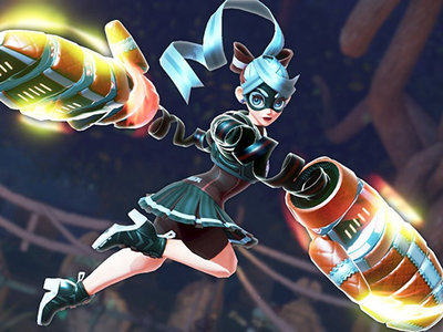 ARMS muestra nuevo escenario y un color alternativo para Ribbon Girl