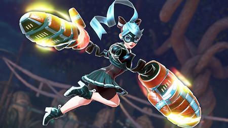 ARMS muestra nuevo escenario y un color alternativo para Ribbon Girl