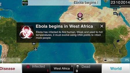 Aumentan descargas de Plague Inc. por la crisis del Ébola