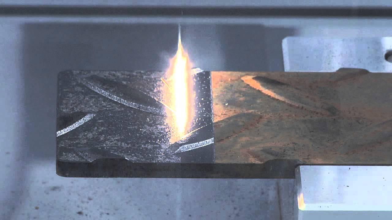 Limpiando El 243 Xido De Un Metal Con Un Rayo L 225 Ser